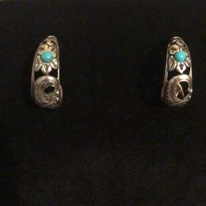 Carolyn Pollack sterling earrings